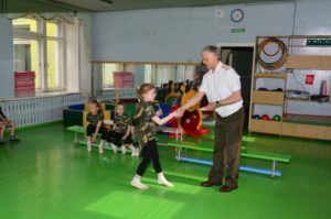 посвящение детей в кадеты