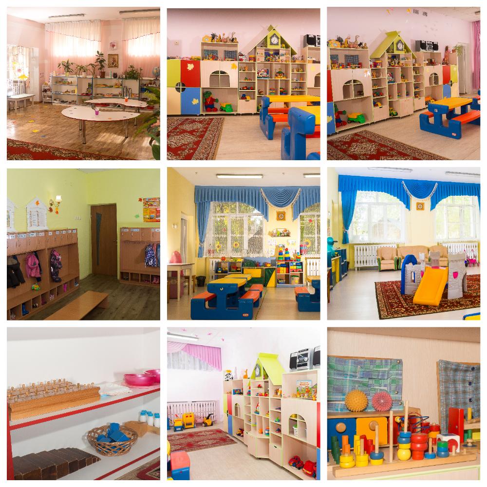 Интерьеры групп нашего детского сада Монтессори Киров до 3 лет